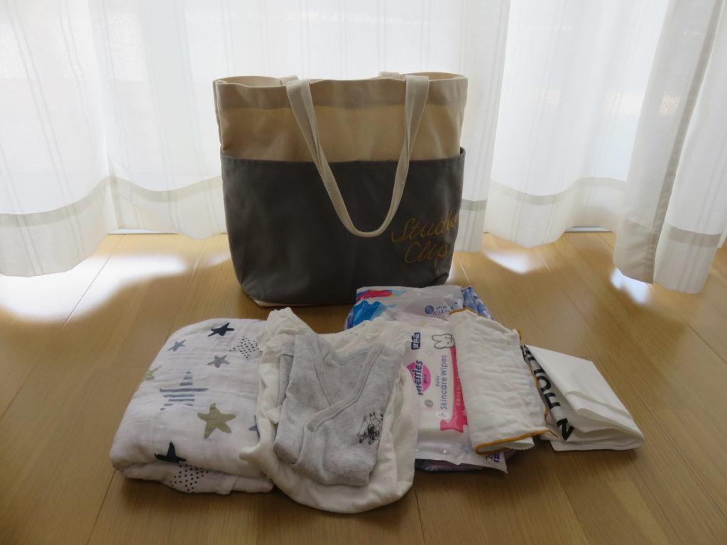 出産入院のバッグにキャリーはなし?
