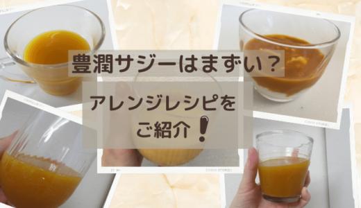 豊潤サジーはまずい?5つのアレンジレシピを試して発見した美味しい飲み方